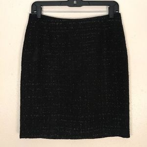 Womens Laundry by Shelli Segal Sparkly Tweed Skirt